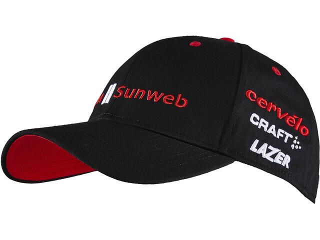 Craft Team Sunweb copricapo nero